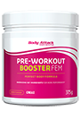 Body Attack Pre-Workout Booster FEM - 375g