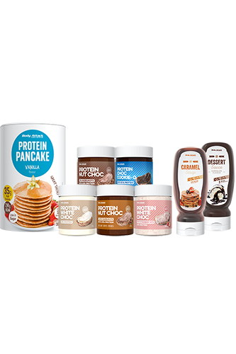 Body Attack Protein Choc Pancake Deluxe - Paket