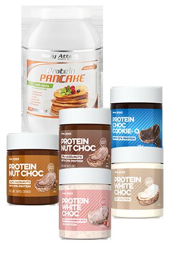 Body Attack Protein Choc Pancake Paket groß