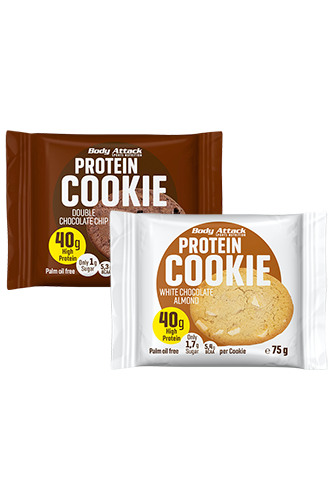 Body Attack Protein Cookie - 75g Restposten