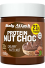 Body Attack Protein Nut Choc - Creamy Hazelnut 250g
