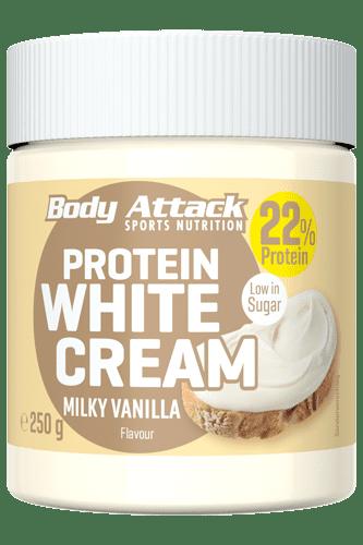Body Attack Protein White Cream Milky Vanilla  - 250g