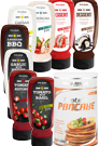 Body Attack Variety Pack Saucen 8er 320ml + Pancake Stevia 300g