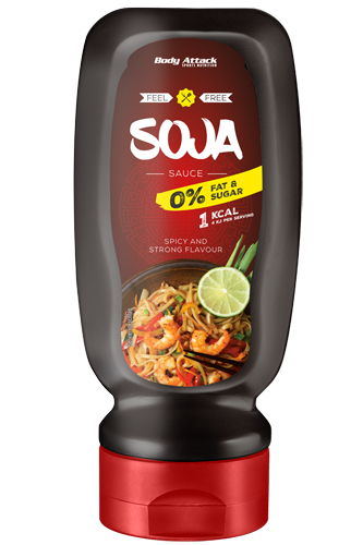 Body Attack Soja Sauce - 320ml Restposten