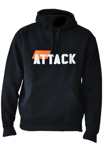 Body Attack Sports Nutrition Hoodie ATTACK