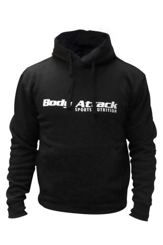 Body Attack Sports Nutrition Hoodie - black
