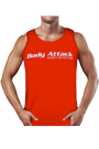 Body Attack Sports Nutrition Tank Top red