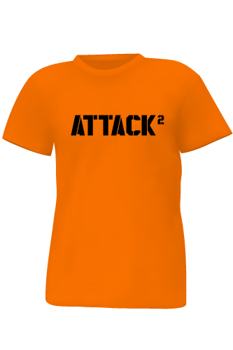 Body Attack Sports Nutrition T-Shirt ATTACK 2 - orange