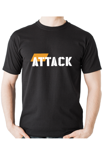 Body Attack Sports Nutrition T-Shirt ATTACK