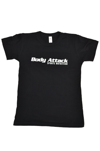 Body Attack Sports Nutrition T-Shirt Women - schwarz