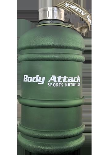 Body Attack Sports Nutrition Water Bottle XXL - 2,2 Liter Crazy Green