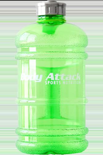 Body Attack Sports Nutrition Water Bottle XXL green - 2,2 Liter
