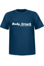 Body Attack Sports Nutrition T-Shirt blau