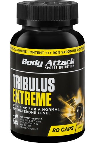Body Attack Tribulus Extreme - 80 Caps Restposten