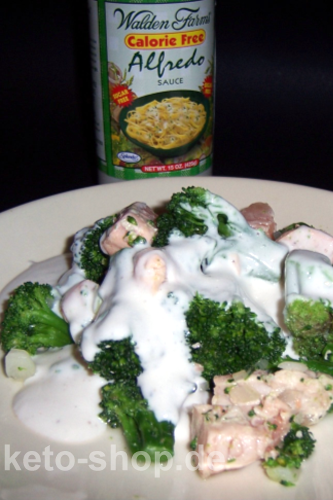 Fitness-Rezept - Broccoli-Rahmgem�se mit Lachshappen