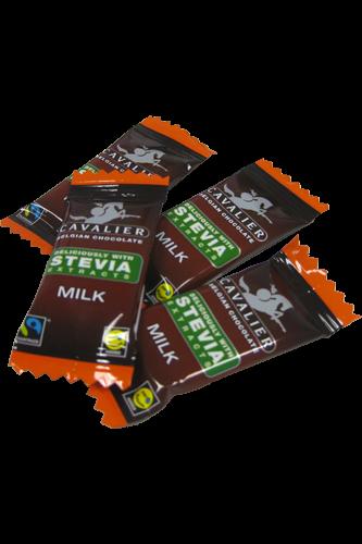 Cavalier Schokolade Minitafeln Stevia Box 375g