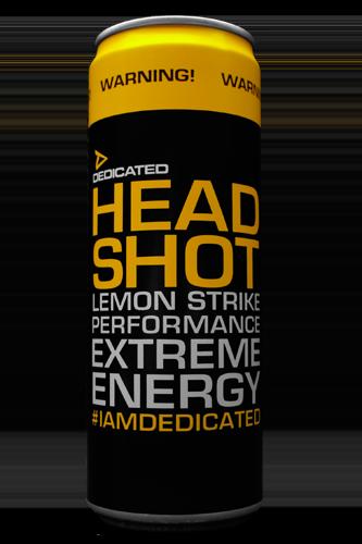 Dedicated Nutrition Headshot Energy Drink - 355 ml