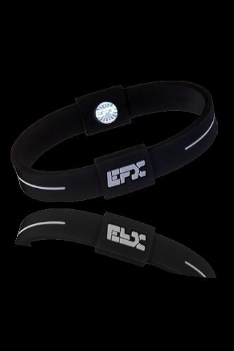 EFX Armband Silikon Sport black-white