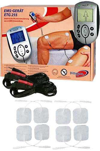 Muskel-Trainer EMS Ger�t ETG 255 - Dittmann Sport