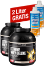 Extreme Whey Deluxe 2 x 2,3 kg + 2 x gratis Low Carb Sports Drink - 1000 ml