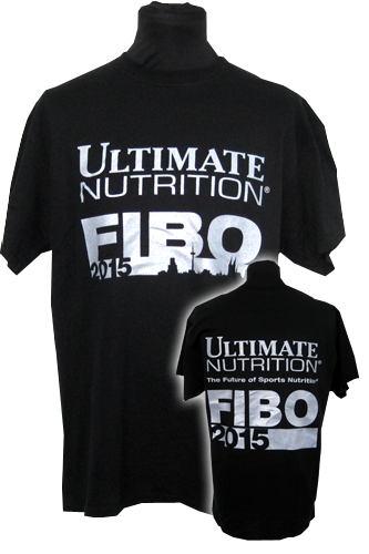 Ultimate Nutrition T-Shirt - FIBO 2015