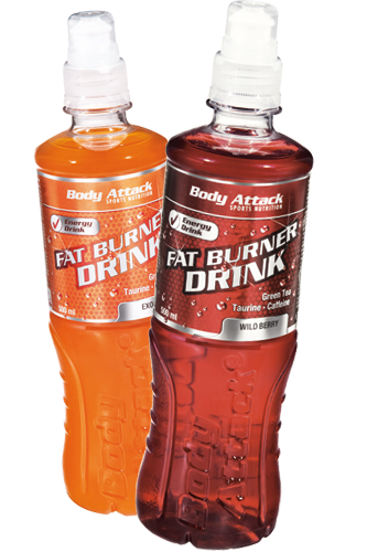 Body Attack Fatburner Drink - 500ml Restposten