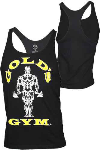 Gold�s Gym Stringer Tank Muscle Joe Premium Black