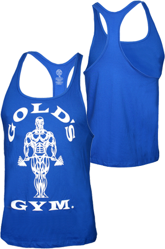 Gold´s Gym Stringer Tank Muscle Joe Premium Royal