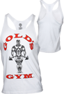 Gold�s Gym Stringer Tank Muscle Joe Premium White