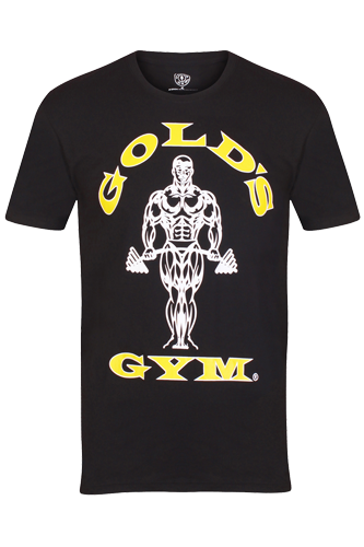 Gold´s Gym T-Shirt Muscle Joe Black