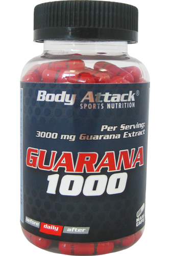 Body Attack Guarana 1000 - 90 Caps