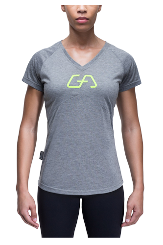 Gym Aesthetics T-Shirt Damen Fit Workout