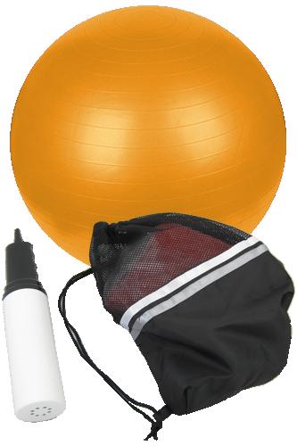 Gymnastikball 65cm inkl. Tragetasche und Pumpe