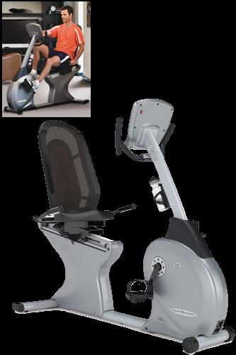 Halbliege-Fahrradtrainer R 2250 von VISION