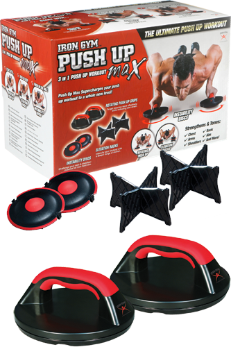 Iron Gym Push Up-Max� Liegest�tzgriff-Set