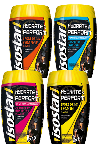 Isostar Hydrate & Perform Sports Drink - 400g