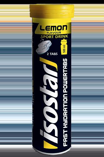 Isostar Powertabs Lemon - 120g