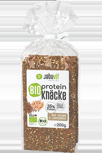 JabuVit Bio Protein Knäckebrot - 200g 12er Pack