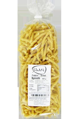 JabuVit Protein-Dinkel Spirelli - 500g Restposten