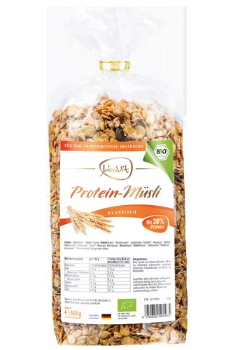 JabuVit Protein-M�sli Klassisch - 500g