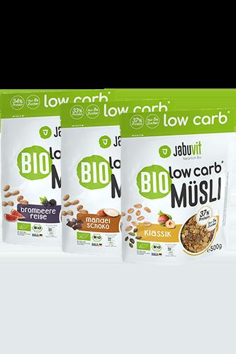 JabuVit Bio Low Carb*-Müsli - 500g