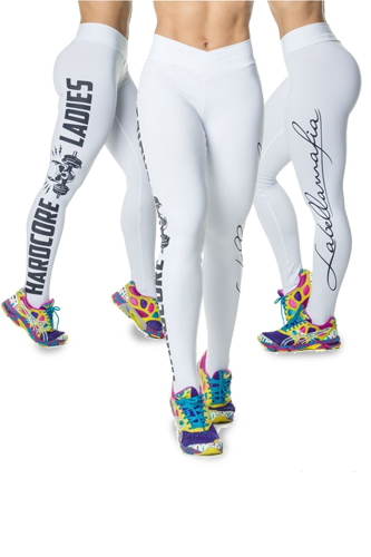 LaBellaMafia Legging HARDCORELADIES WHITE