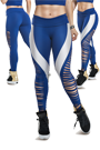 LaBellaMafia Legging OVER CUT ROYAL