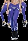 LaBellaMafia Legging POWER BLUE