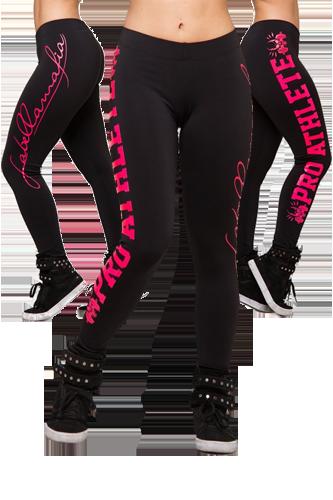LaBellaMafia Legging PRO ATHLETE black-pink