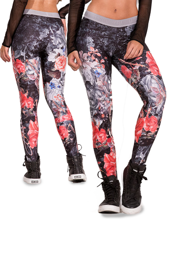 LaBellaMafia Legging ROUGE ROSES