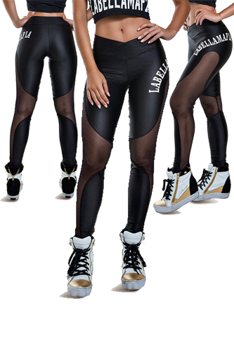 LaBellaMafia Legging SPIRIT TRANSPARENCY
