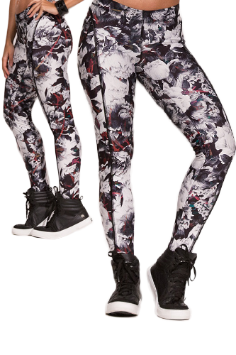 Labellamafia Legging Surfer Gray Garden