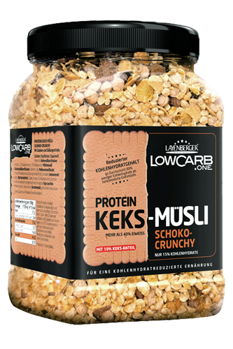 Layenberger Protein Keks-Müsli Schoko-Crunchy - 530g