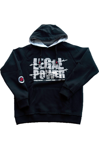 Legal Power Hoodie Frisco schwarz